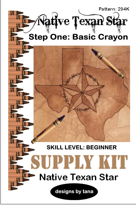 294K Native Texan Star Supply Kit