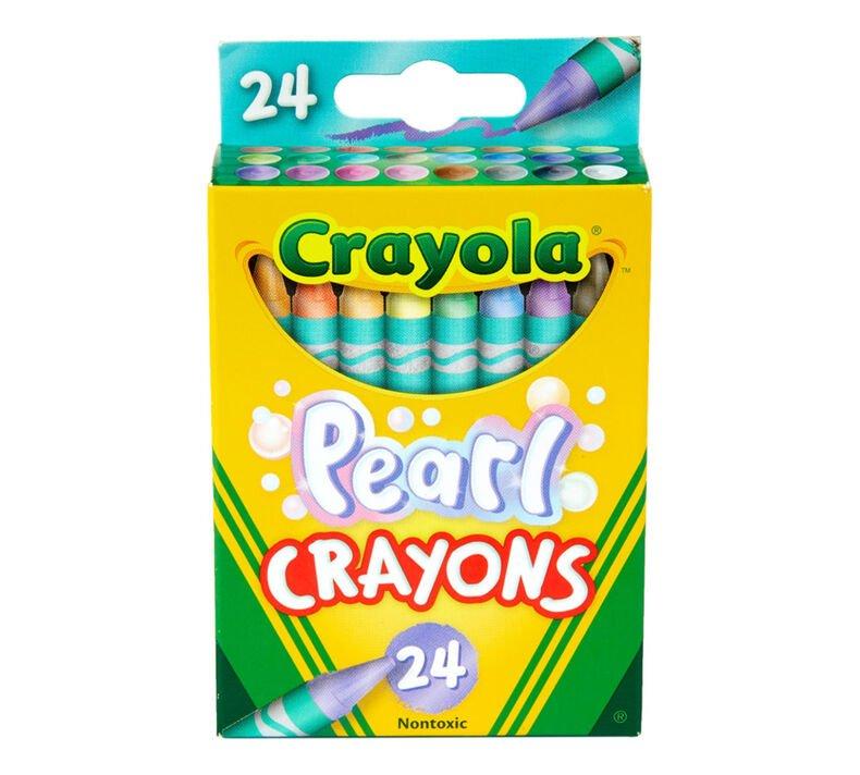 Crayola Pearl Crayons 24 ct.