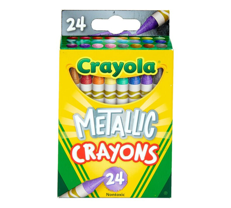 Crayola Metallic Crayons 24 ct.