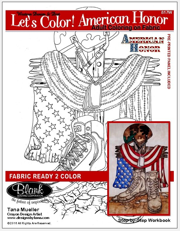 Let's Color! American Honor