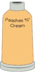 Madeira Polyneon #40 Peaches N Cream Yellow