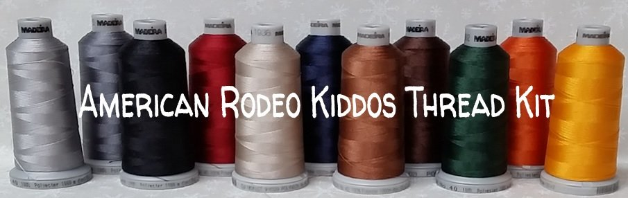 American Rodeo Kiddos Thread Kit