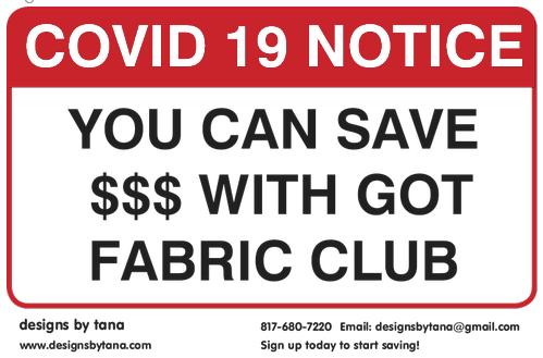 GFC2YR Got Fabric Club 2 Years