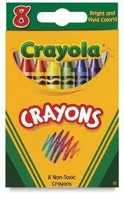 Crayola Crayons 8ct.