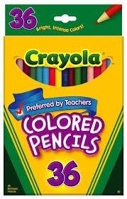 Crayola Colored Pencils 36 ct.