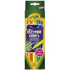 681120 Crayola Extreme Colored Pencils