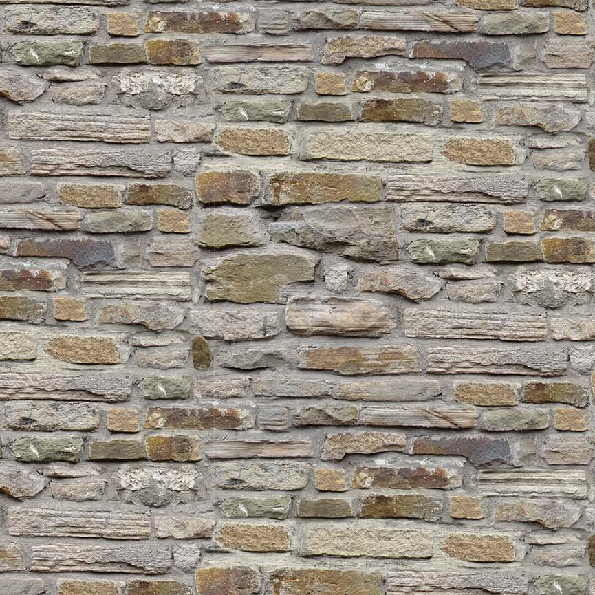21388-92 Gray Tan Brick Wall Naturescapes Stonehenge Northcott