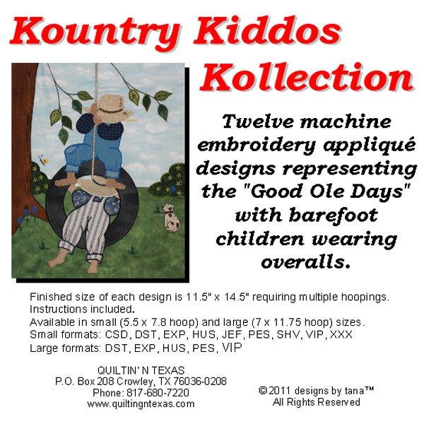 CD Kountry Kiddos Kollection