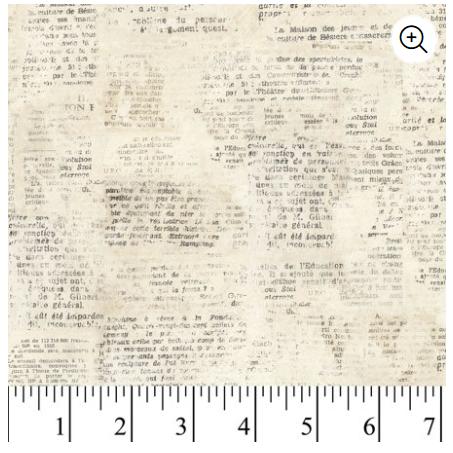 52469 Love Notes Cream David Textiles