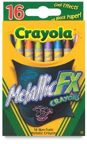 Crayola Metallic FX Crayons