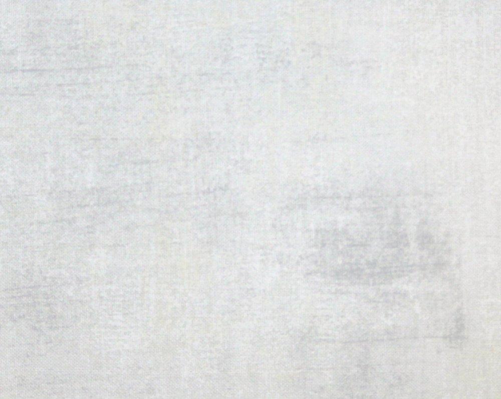 Grunge Basic White on white  45 Pre-cut Moda