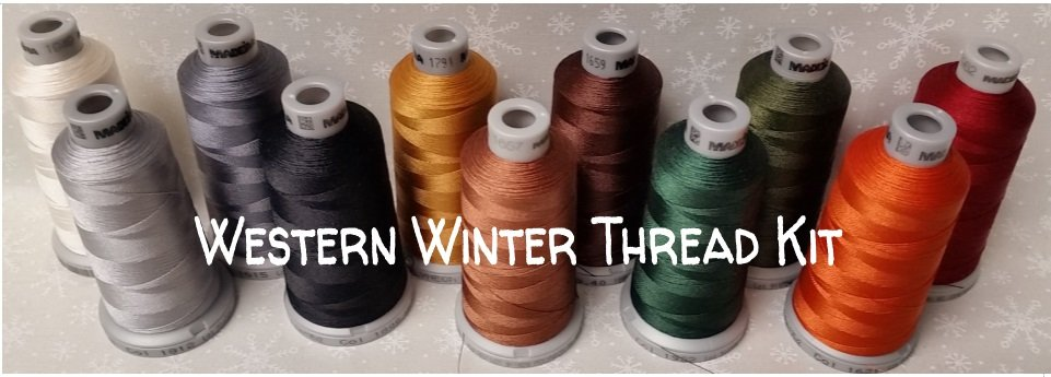 Western Winter Thread Kit