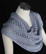 A Knitted Shoulder Shawl