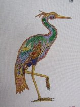 Danji Waterboard Painted Needle Point Canvas