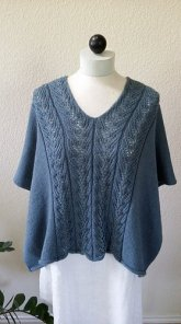 Granite Schoals Knitted Poncho