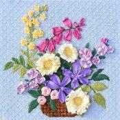 Brenda Stofft Spring Flower Needlepoint Canvas