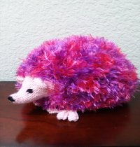 Pink Hedgehog