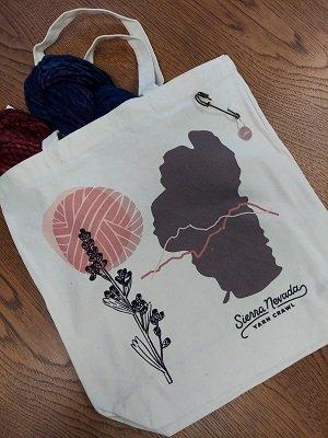 2021 Sierra Nevada Yarn Crawl Canvas Bag with Pin