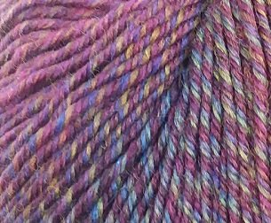 Knitting Fever Painted Sky 205 Wine Violet