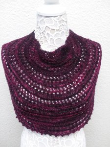 A Knitted Appia Cowl
