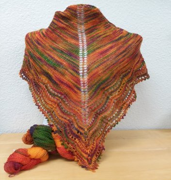 SimpleNatural Shawl