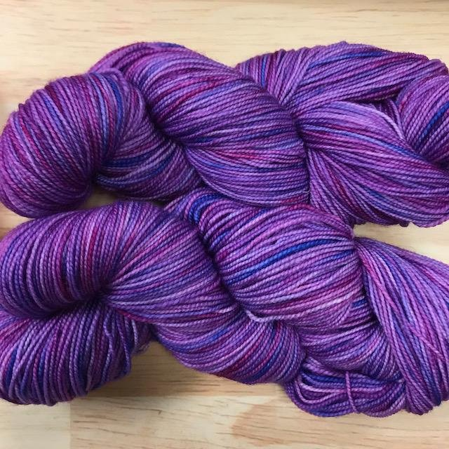 Whimsical Colors Silky Merino Light Blueberry Smoothie