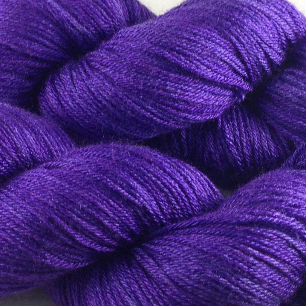 Whimsical Colors Silky Merino Light Deep Purple