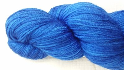 Whimsical Colors Silky Light Electric Blue