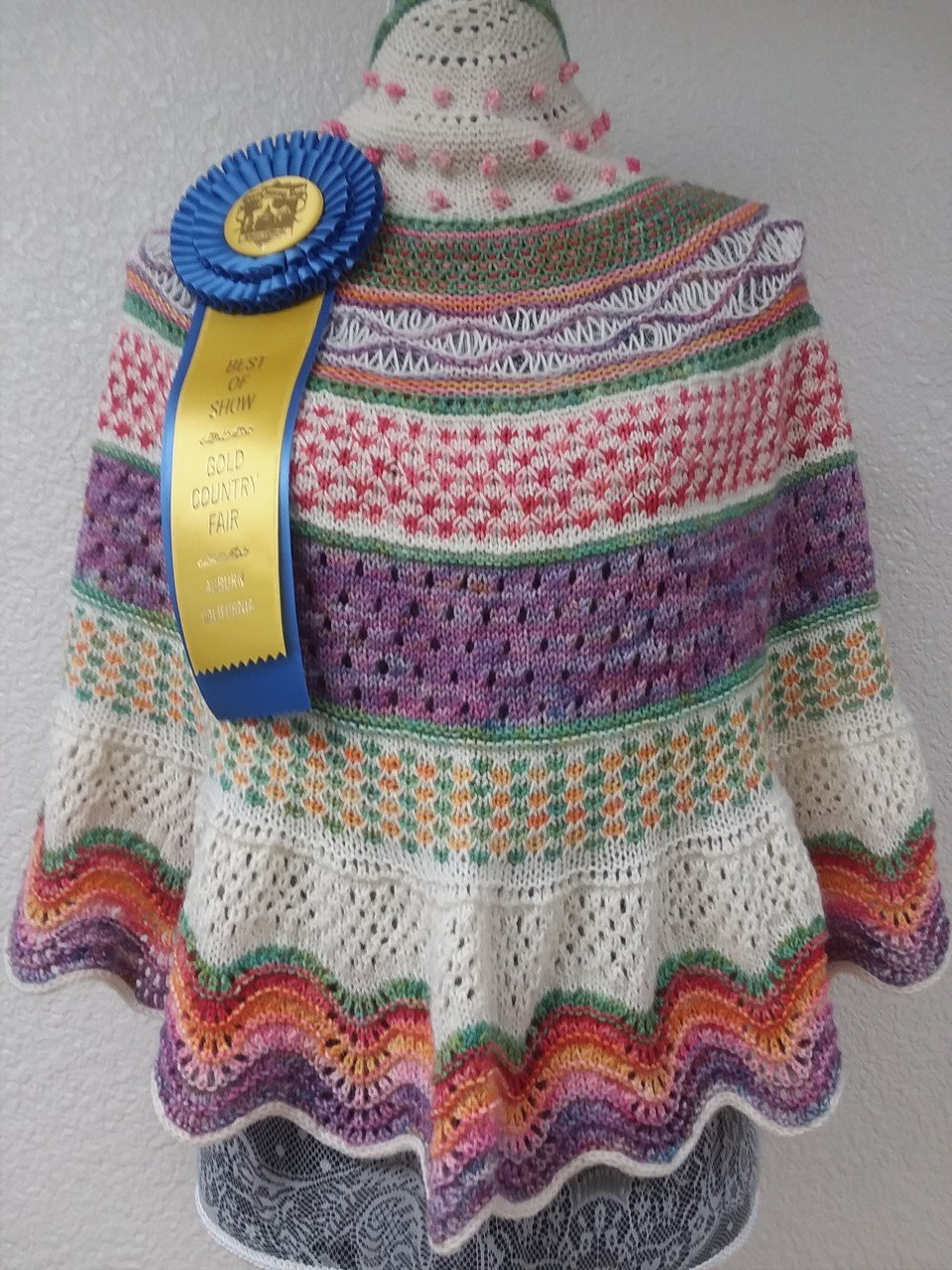 A Knitted Shawl