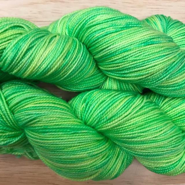 Whimsical Colors Silky Merino Light Midori Sour
