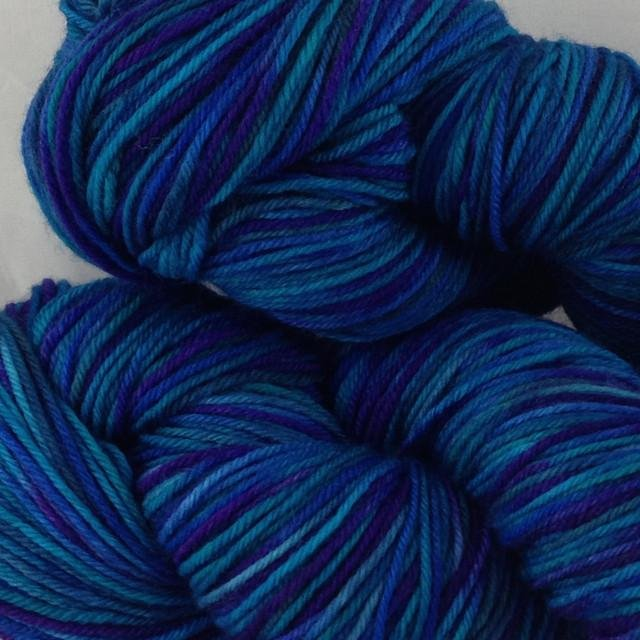 Whimsical Colors Silky Merino Light Painted Mystique