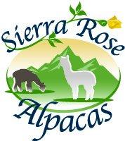 Logo of Sierra Rose Alpacas