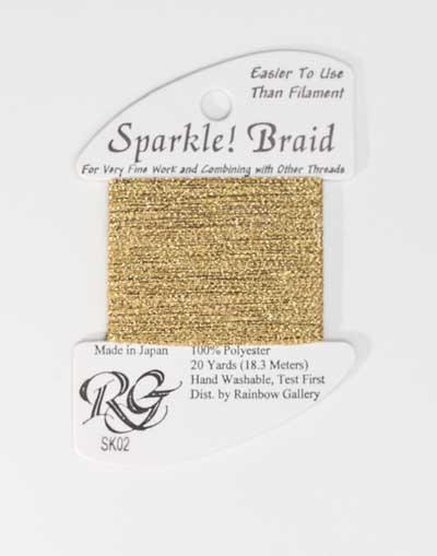 Sparkle Braid SK02 Gold