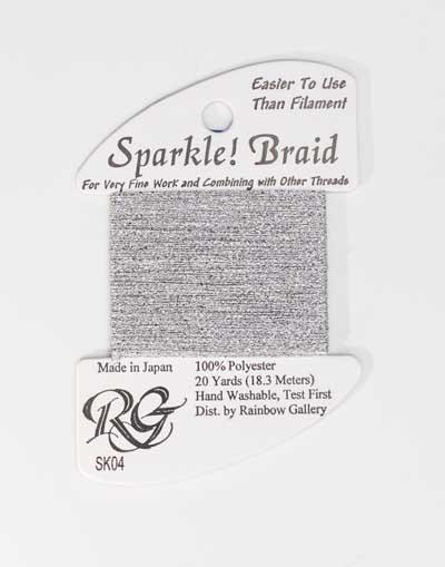 Sparkle Braid SK04 Silver