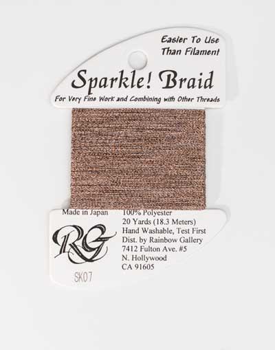 Sparkle Braid SK07 Copper