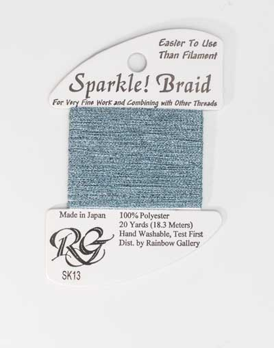 Sparkle Braid SK13 Lt Blue
