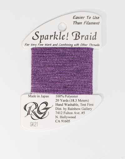 Sparkle Braid SK21 Purple