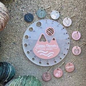 2021 Sierra Nevada Yarn Crawl Stitch Marker Set