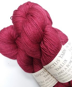 Invictus Yarns YakLux Fez and a Bow Tie Too Cool