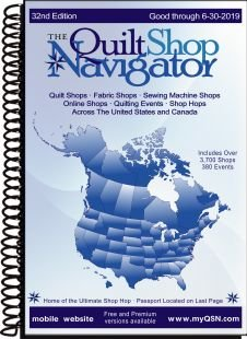 The Quilt Shop Navigator 32nd Edition