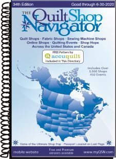 The Quilt Shop Navigator 24th Edition