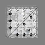 Creative Grids non slip ruler 4 1/2