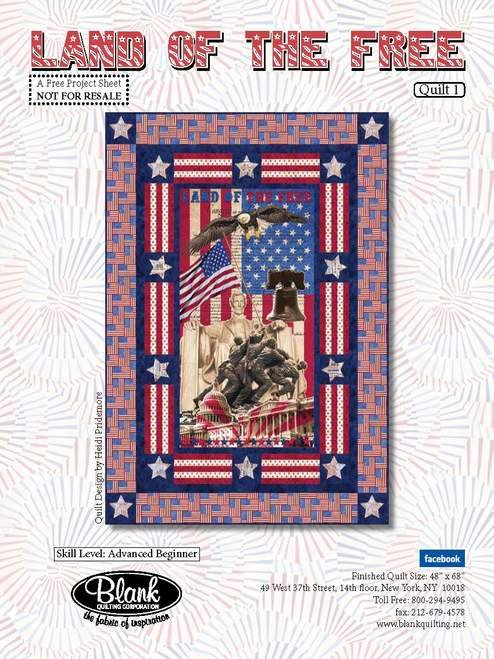 Land of the Free Quilt Kit