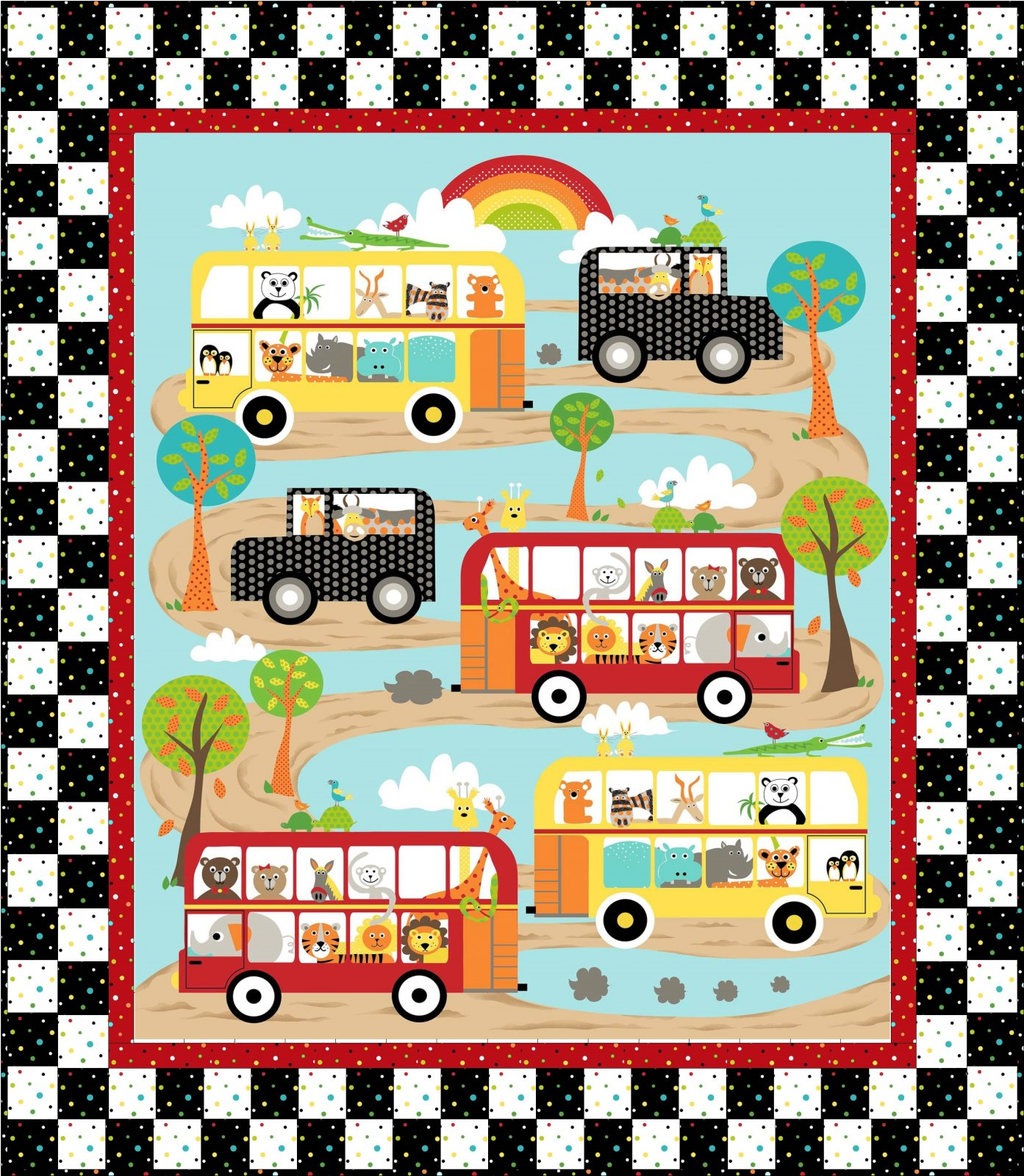 On the Road Quilt Kit