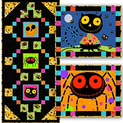 Creepy Halloweenies Runner/Placemat Kit