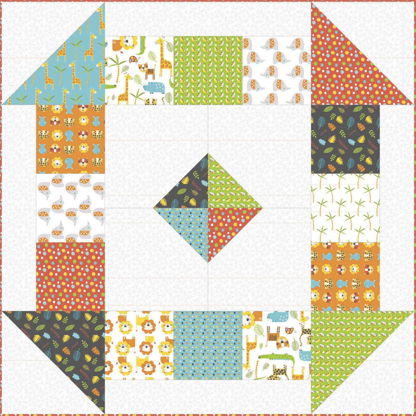 Stay Wild Quilt Kit
