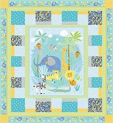Sweet Safari Quilt Kit