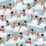 Snow Days Snowmen Scattered 1638-11
