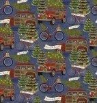 3W-Jingle All The Way 16628 Blue - Hauling the Trees