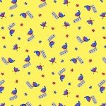 HG-Day Dreamers 7175-33 Birds - Yellow